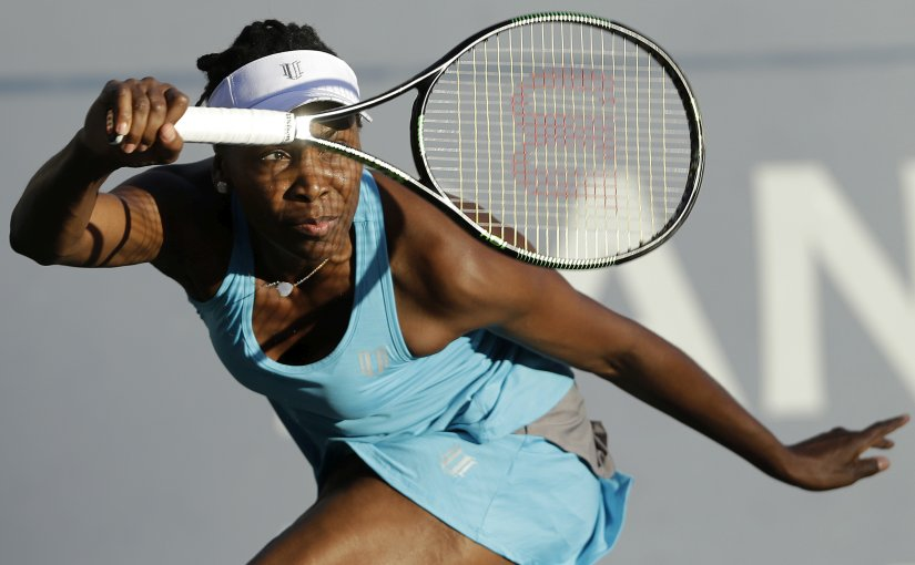 Venus Williams, even at the age of 36, is a massive threat and is seeded sixth at the US Open. AP