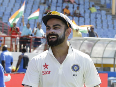File photo of Indian Test skipper Virat Kohli. AP