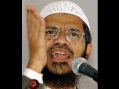 A file photo of Zakir Naik. Reuters