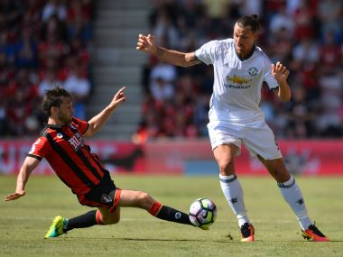 Jose Mourinho reveals Manchester United youngsters are fond of Zlatan Ibrahimovic. AFP