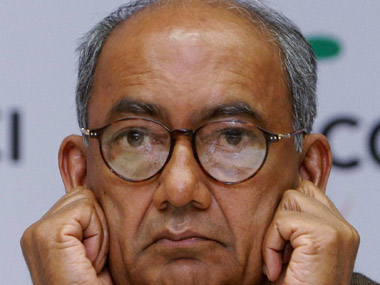 File photo of Digvijaya Singh. PTI
