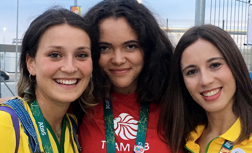 Humans of Olympics Meet Flossy an English student in Rio to experience the Olympic energy