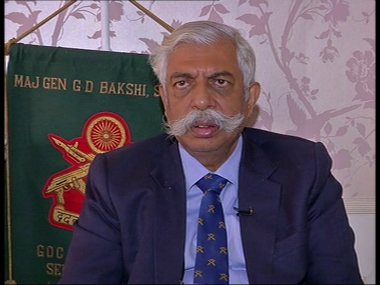 File photo of GD Bakshi. News18