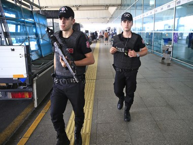 Representational image of terrorist attack in Istanbul airport. AP