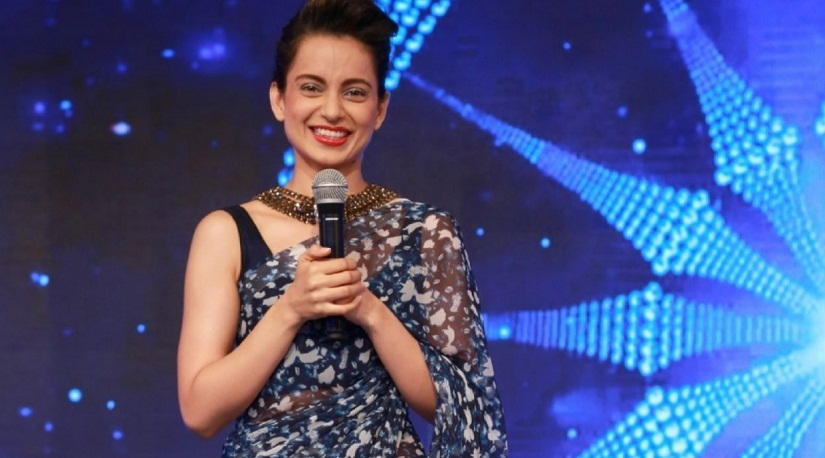Kangana Ranaut channels a desi version of Audrey Hepburn at the CNN IBN Awards