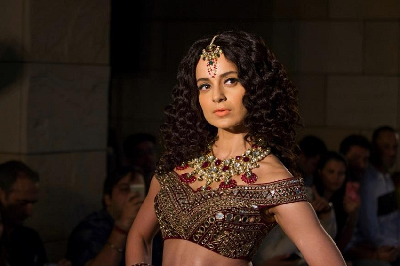 Kangana Ranaut at the India Couture Week. Image from News18