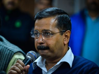 File image of Arvind Kejriwal. AFP