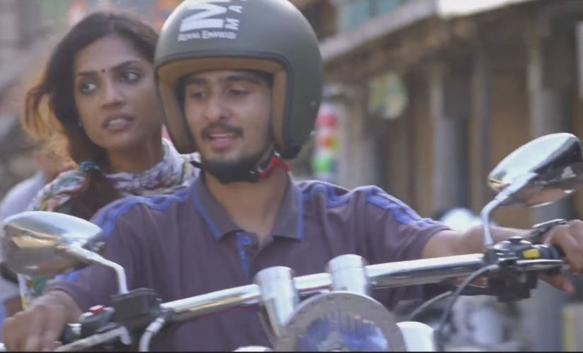 Shruthy Menon and Shane Nigam in a YouTube screen grab from Kismath