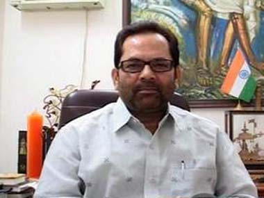 Communal riots decreased by 200% under NDA rule, says Mukhtar Abbas Naqvi