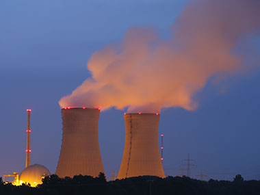 File image of nuclear power plant. Getty images