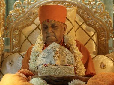 File photo of Pramukh Swaminarayan. Twitter