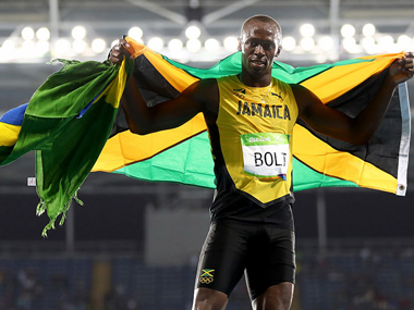 File photo of Usain Bolt adding to the medal tally.