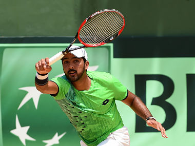 Pakistan's Aisam-ul-Haq Qureshi pulled out of the Davis Cup tie against New Zealand. AFP