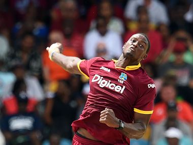 File photo of Jason Holder. AFP / AFP PHOTO / Jewel SAMAD