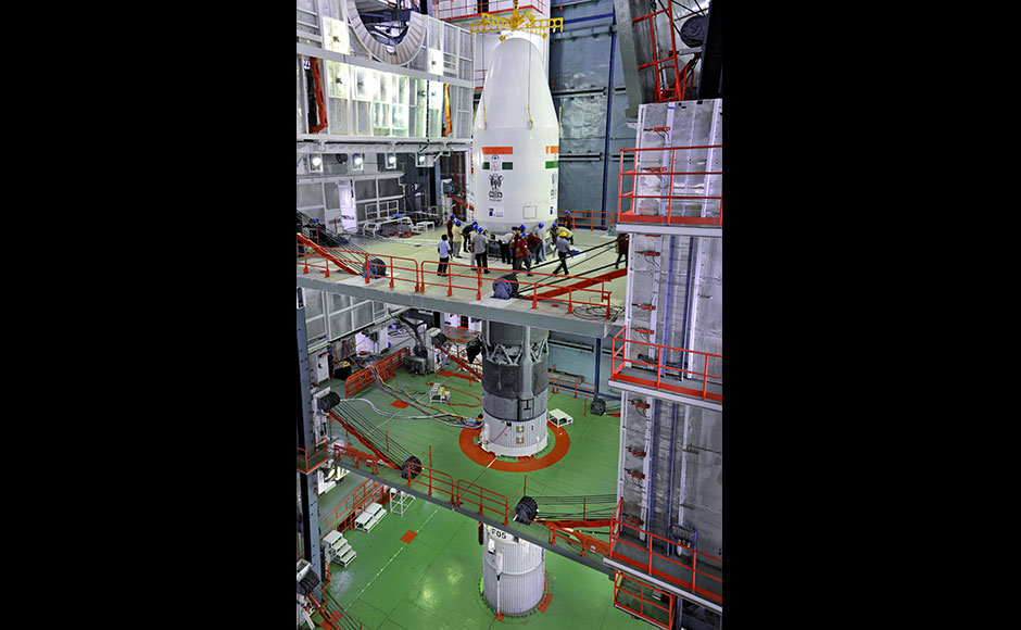 GSLV-F05 is the flight in which the indigenously developed Cryogenic Upper Stage (CUS) will be carried on-board for the fourth time during a GSLV flight.