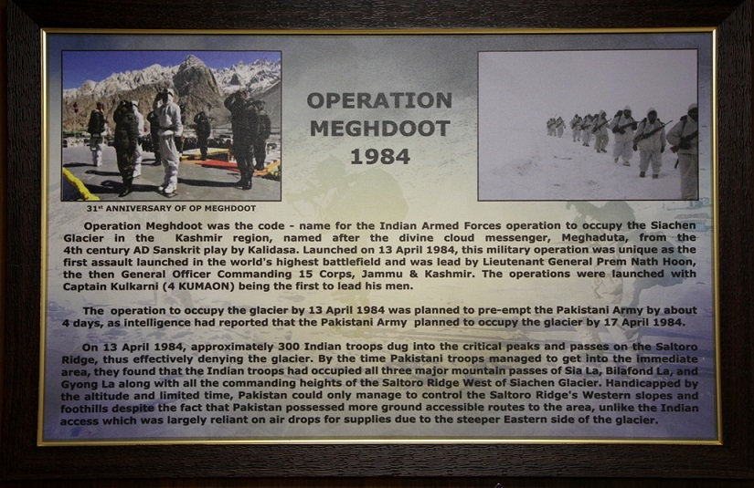 Operation Meghdoot 1984. Photo courtesy: Sanjeev Nayyar