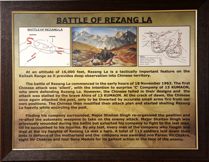 The Battle of Rezang La. Photo courtesy: Sanjeev Nayyar