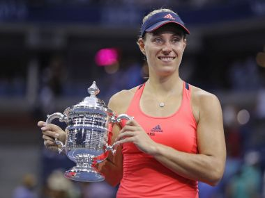 US Open champion Angelique Kerber. AP