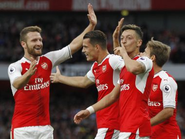Arsenal produced a dominant performance to demolish Chelsea at the Emirates stadium. AFP