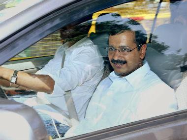 File image of AAP convener Arvind Kejriwal. PTI
