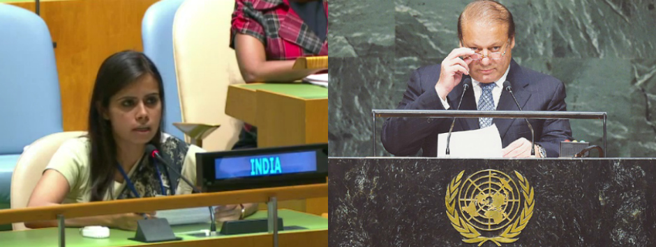 United Nations: A happy shouting ground for Pakistan, it was India's turn to holler back