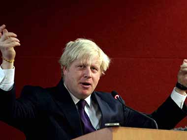 UK Foreign Secretary Boris Johnson. PTI