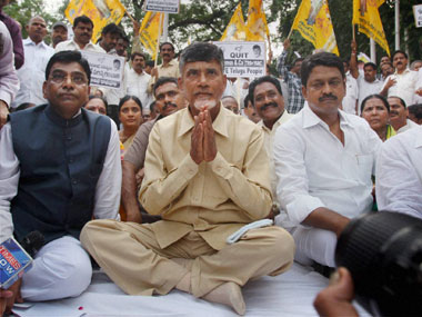 Chandrababu Naidu welcomes Jaitleys announcement of special package for AP