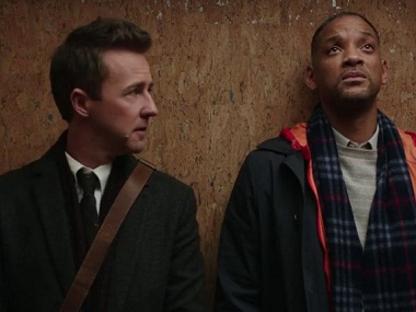 A Still from the Collateral Beauty Trailer