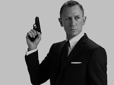 Daniel Craig as James Bond 007. Image via Facebook
