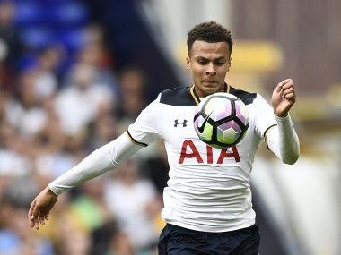 Tottenham's Dele Alli in action. Reuters