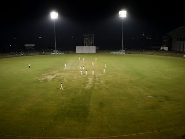Duleep Trophy was played under lights for the first time this year . AFP