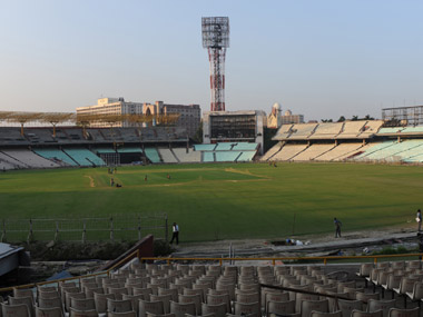 File photo of Eden Gardens. AFP