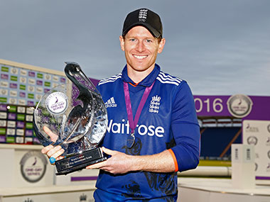 Eoin Morgan. Reuters