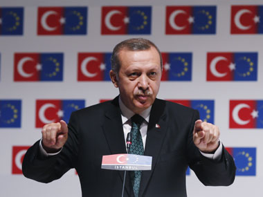 A file photo of Recep Tayyip Erdogan. Reuters