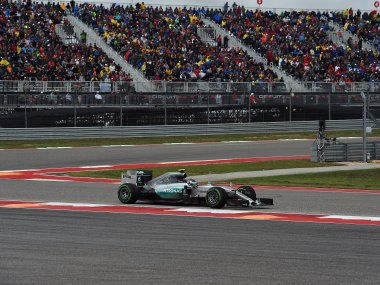 File photo of the US Formula One Grand Prix at the Circuit of The Americas in Austin, Texas. AFP