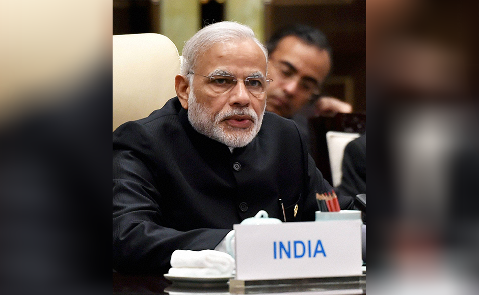 Hangzhou-Prime-Minister-Narendra-Modi-speaks-during-the-BRICS-meeting-at-the-West-Lake-State-Guest-House-in-Hangzhou,-China-on-Sunday.PTI