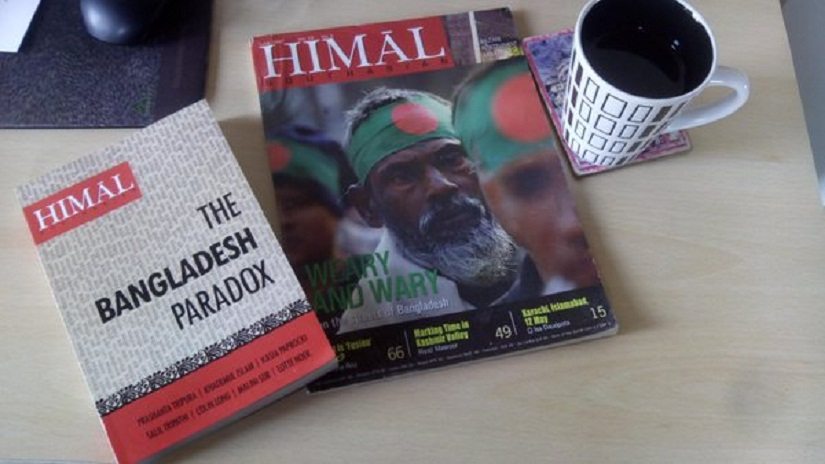 Himal Southasian provided distinctive reportage from the Indian subcontinent. Photo courtesy Twitter
