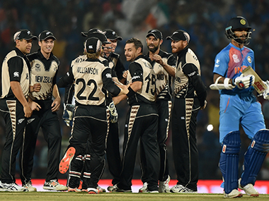 India had struggled to read Mitch Santner's off-spin during the World T20 earlier this year. AFP