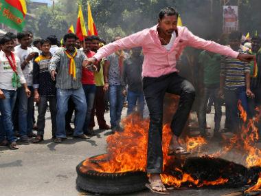 Karnataka government will take stringent action against vandalism. AP
