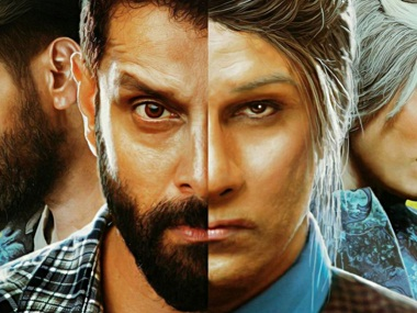 Iru Mugan double role image