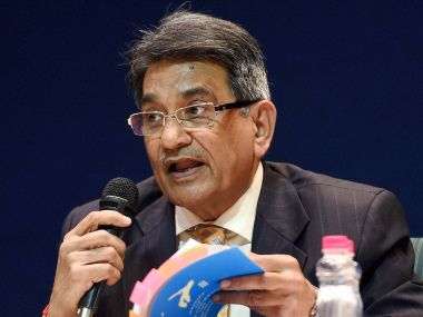 File photo of Justice RM Lodha. PTI