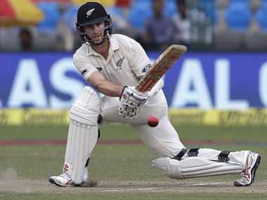 New Zealand's captain Kane Williamson got his 10th half-century in the last two years. AP