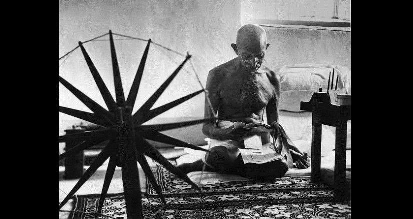 Mohandas K Gandhi in India in 1946. Photo by Margaret Bourke-White/Time & Life Pictures/Getty Images