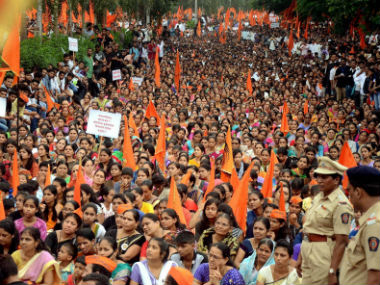 The Maratha Kranti silent morchas have caused a lot of tension in Maharashtra politics. PTI
