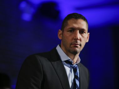 Chennaiyin FC manager Marco Materazzi. AFP