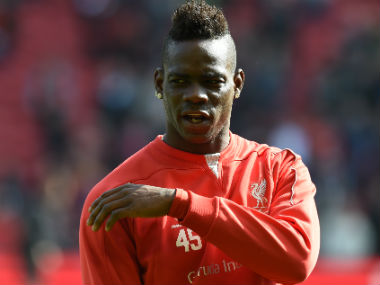 Mario Balotelli during his Liverpool days. AFP