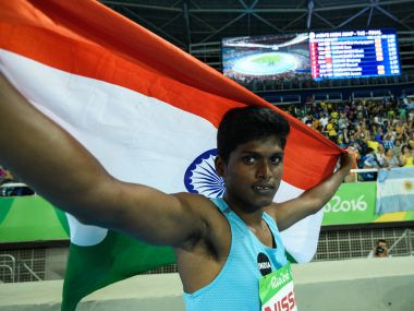 Mariyappan Thangavelu created history by