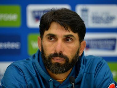 File image of Misbah-ul-Haq. AFP