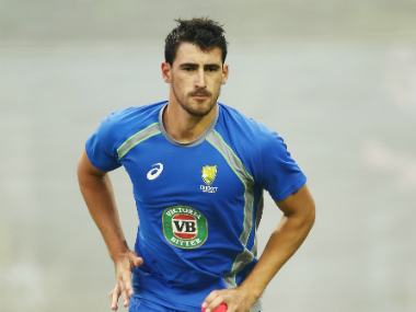 Mitchell Starc had been rested for the upcoming limited-overs tour of South Africa. Getty Images
