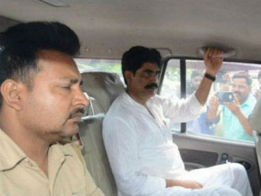 Mohammad Shahbuddin after being released from jail. CNN-News18